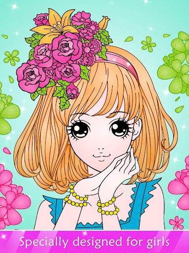 Princess Coloring Book for Kids & Girls Free Games for PC