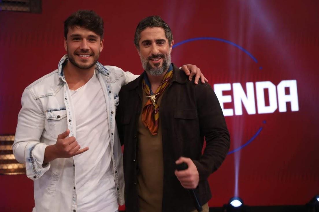 Lucas Viana e Marcos Mion