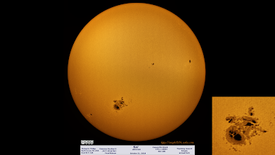 Photo: Not sure how this one didn't get shared in the right spot, but here's my favorite sunspot ever from October 21, 2014! #backlog