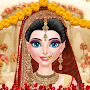 Royal Wedding Fashion Salon: Indian Style Bride APK icon