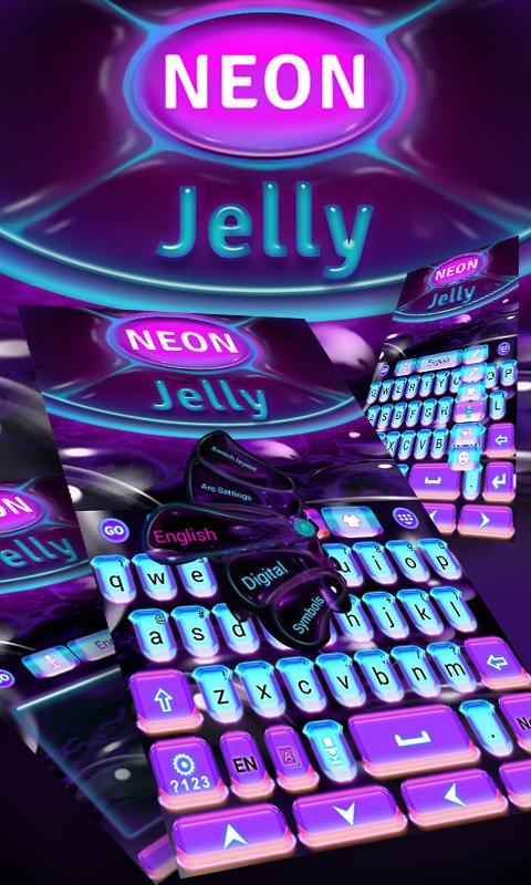 Neon-Jelly-GO-Keyboard-Theme 7