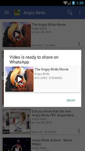 Just Video Feeds for Facebook to explore Videos 4.180926 screenshots 4
