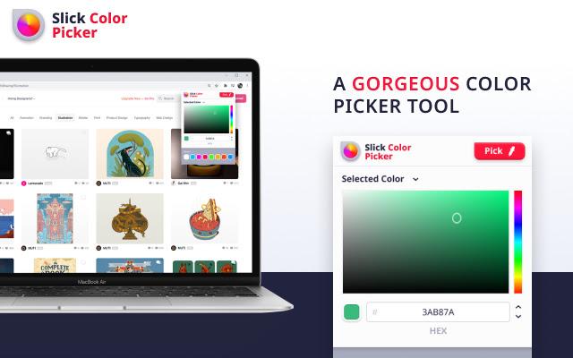 Slick color picker