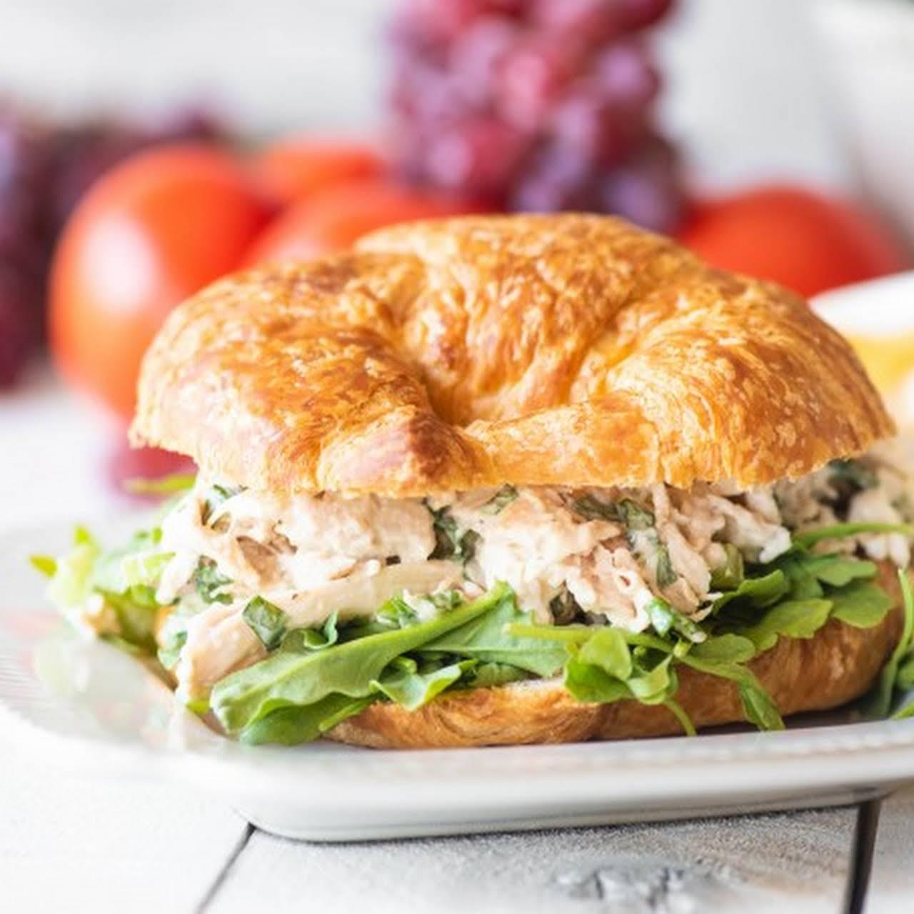 Easy Rotisserie Chicken Salad