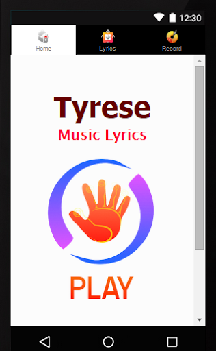 Lyrics Tyrese Gibson