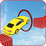 Extreme Impossible Tracks Stunt Car Drive Icon