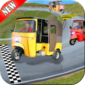 Rickshaw Race Simulator - Hill Drive Chingchi Game