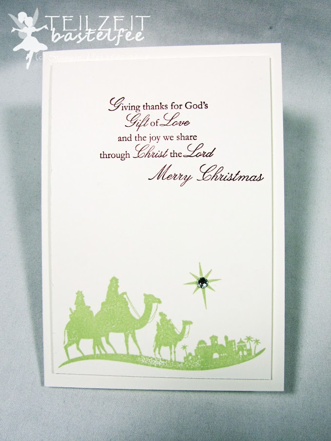 Stampin' Up! - Inkspire_me, Christmas Blessings, Weihnachtssegen, Weihnachten, Come to Bethlehem