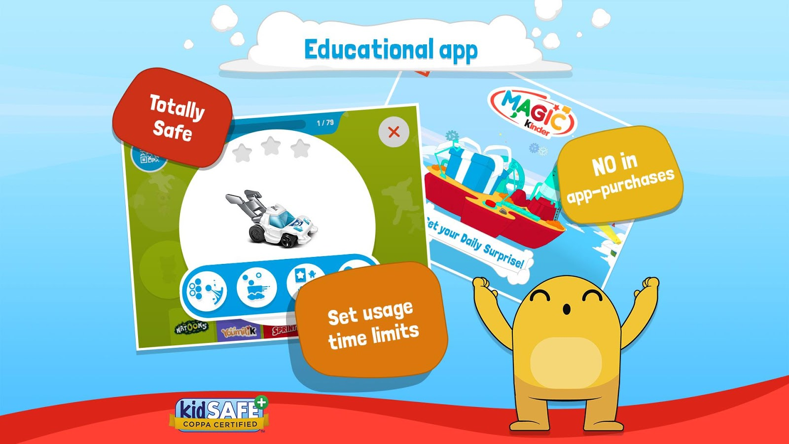 Magic Kinder Official App Free Kids Games Android Apps: majic app