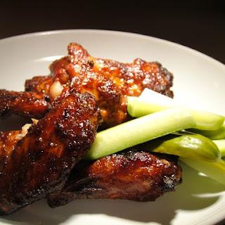 Mahogany-Glazed Chicken Wings.
