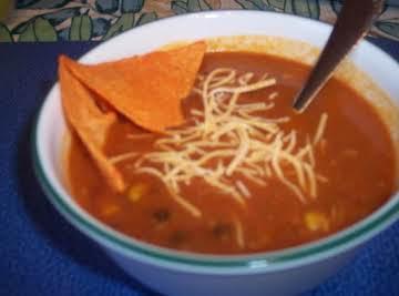 My Chicken Tortilla Soup