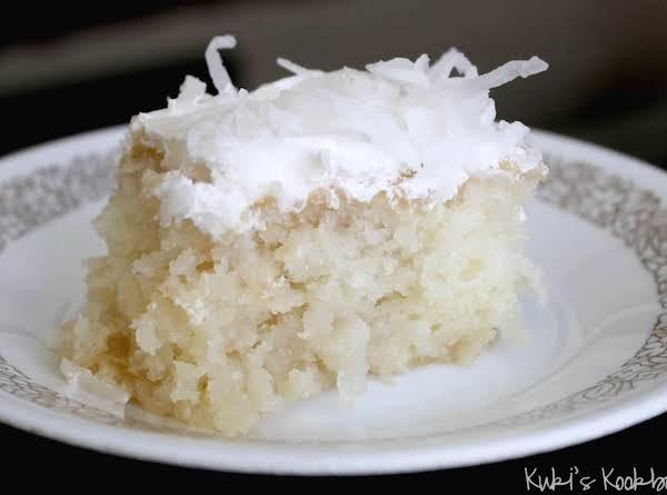 Best Coconut Cake Ever Recipe