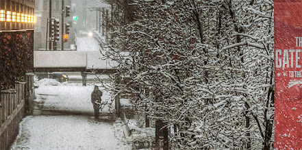 Photo: Winter scene, #Chicago #snow #nikon #HDR