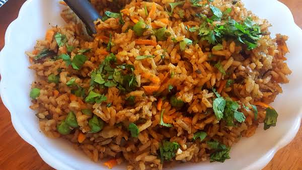 Blondie's Healthy Mexican Rice