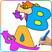 Paint ABCD, A to Z Painting Games