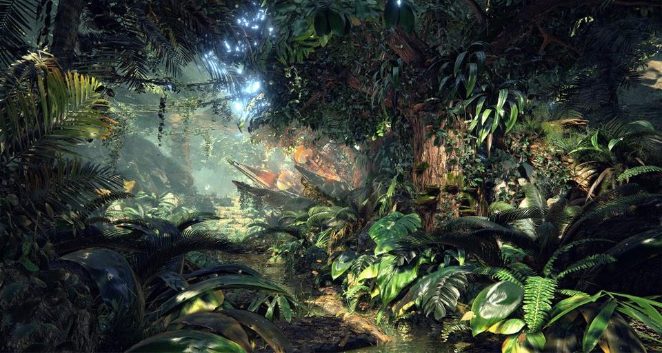 Một cảnh được dựng bởi Unreal Engine 4