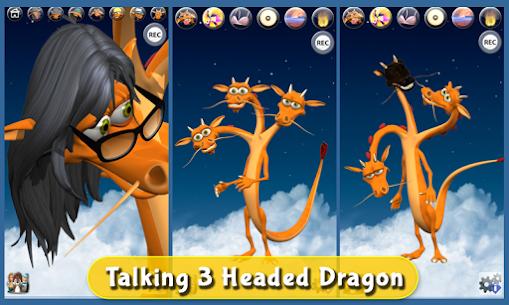 Talking 3 Headed Dragon Deluxe 3.0 APK Mod Updated 1