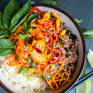 30 Minute Thai Beef with Basil.