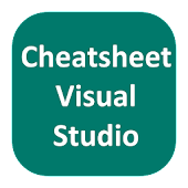 Cheatsheet For Visual Studio