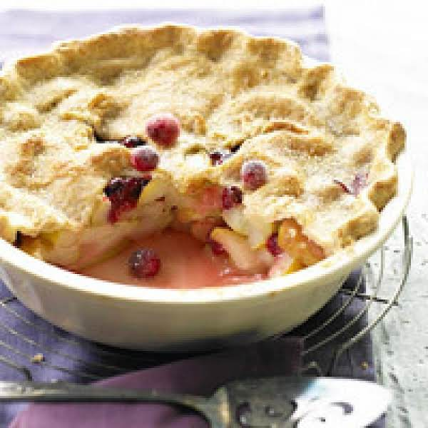 Deep-dish Pear/cranberry Pie