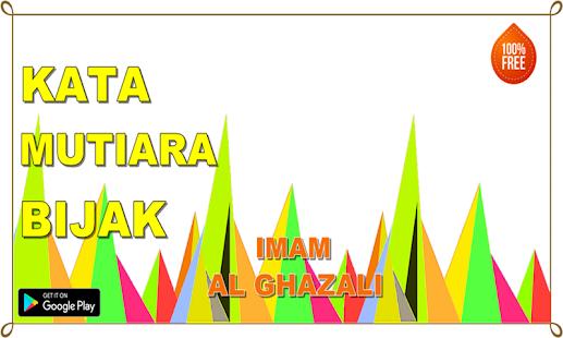 Kata Mutiara Bijak imam Al Ghazali Terbaru - náhled