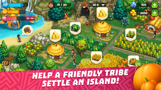 The Tribez: Build a Village Mod Apk Download For Android and Iphone 7