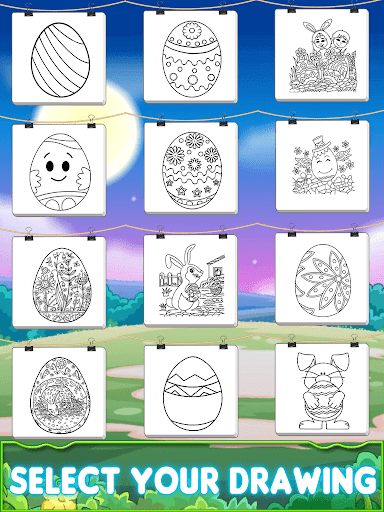 Easter 2019 Coloring Book image | 12