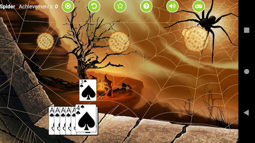 Spider Solitaire Free 2.4 screenshots 4