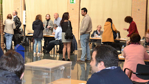 La votación fue en la Sala Bioclimática.