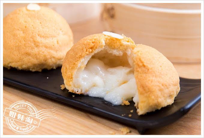 糖朝港式料理雪彩杏汁包