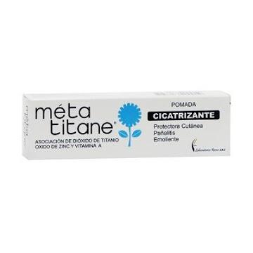 Meta Titane Pomada Tubo   X40G. Remo Sales De Titanio Vitamina Amento