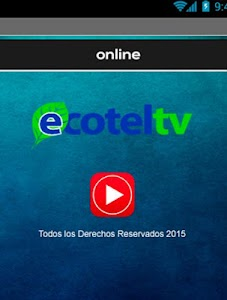 Ecotel TV screenshot 0