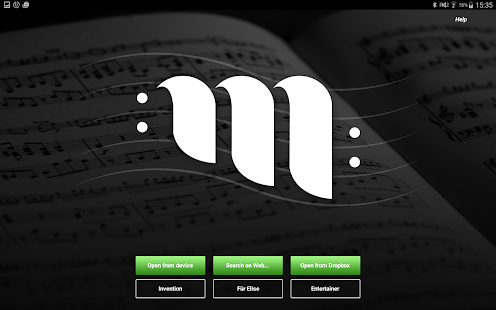 MusicXML 'n' MIDI - Sheet Music Reader and Player- screenshot thumbnail