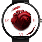 Realistic Heart - Watch Face