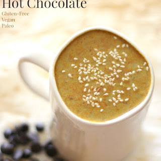 Healing Tahini Hot Chocolate.