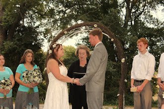 Photo: Wedding Ceremony Officiant The Gray House - Starr, SC - http://WeddingWoman.net