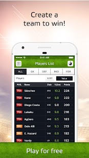Soccerway Fantasy iTeam- screenshot thumbnail