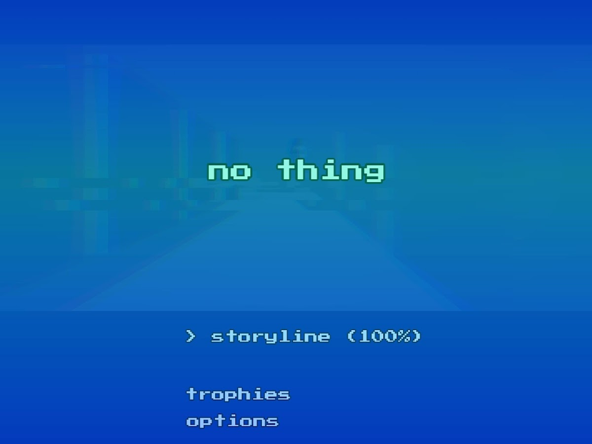 NO THING - Surreal Arcade Trip- screenshot