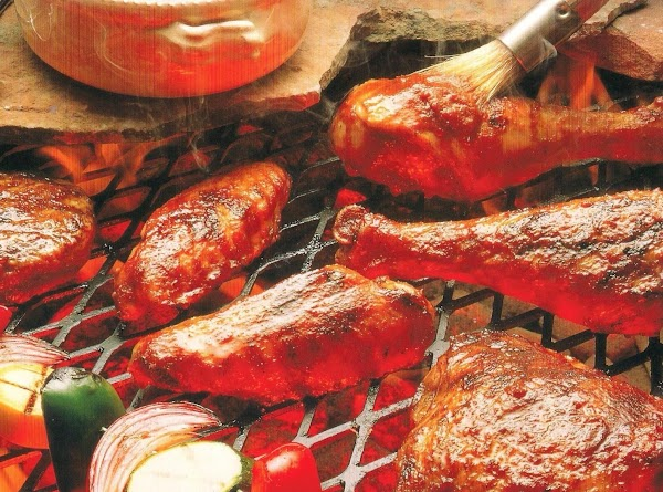 Spicy Barbecued Chicken Recipe