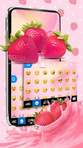 Love Red Stawberry Keyboard Theme 1.0 Mod APK Updated 2