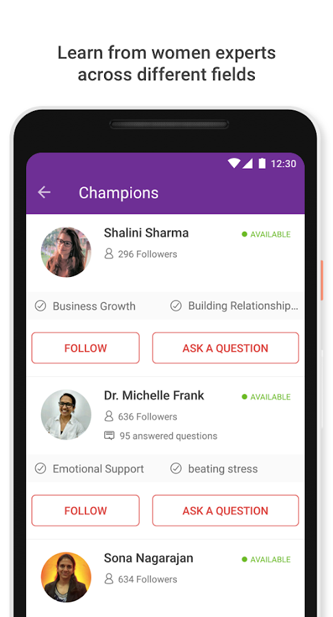 SHEROES - Health, Relationships, Career and Travel- screenshot
