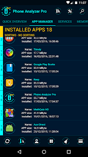 Phone Analyzer Pro Screenshot