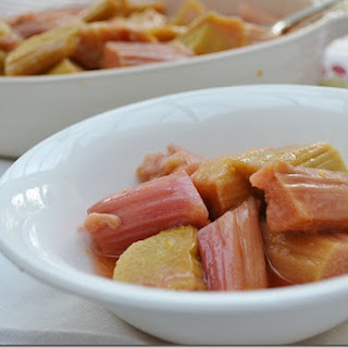 Stewed Rhubarb with Orange Recipe