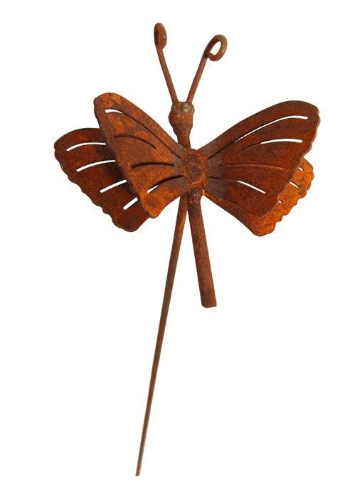 Trädgårdsdekoration fjäril mini stick ELDgarden