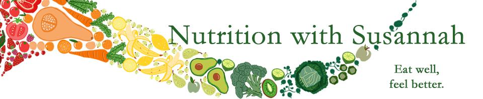 Nutrition with Susannah logo