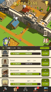 Medieval: Idle Tycoon - Idle Clicker Tycoon Game Screenshot