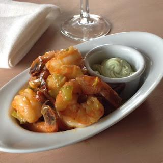 Beurre-acha Shrimp