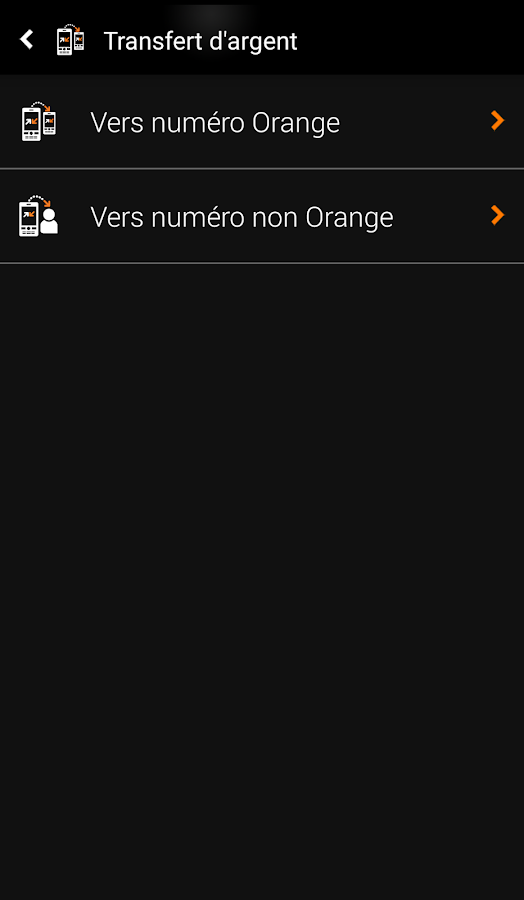 Orange Money Cameroon- screenshot