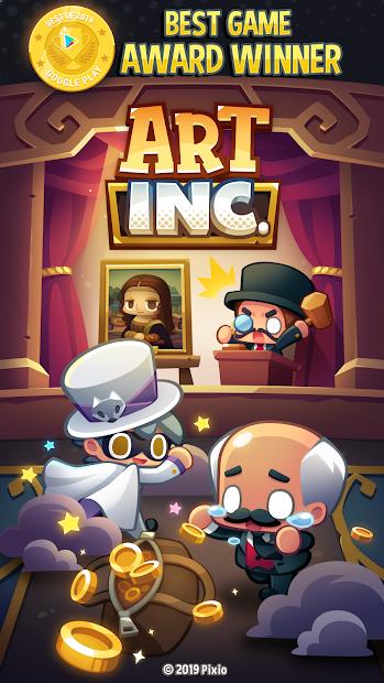 Art Inc. - Trendy Business Clicker Android App Screenshot