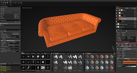 Substance Painter Sofa